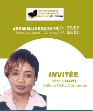 Beninlivres 2019 : Les Editions CLE  à la 1re Foire panafricaine du livre