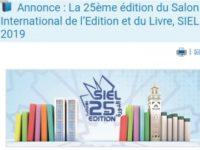 Casablanca : 25ème salon  international de l'édition et du livre  (SIEL)