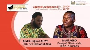 BENINLIVRES 2019 :  Les éditions LAHA  pour un succès parfait et total