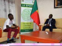 Oswald Homéky porte Beninlivres, la biennale du livre africain
