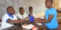 Bénin :   L'Ecrivain Claude Balogoun fait des mordus de lecture à Pénessoulou