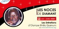 Interview / Olympe Bhêly Quenum:   « Je suis un pachyderme, les Vodú en soient loués »