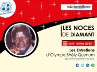 Interview / Olympe Bhêly Quenum : « Les noms premiers sont imprononçables »