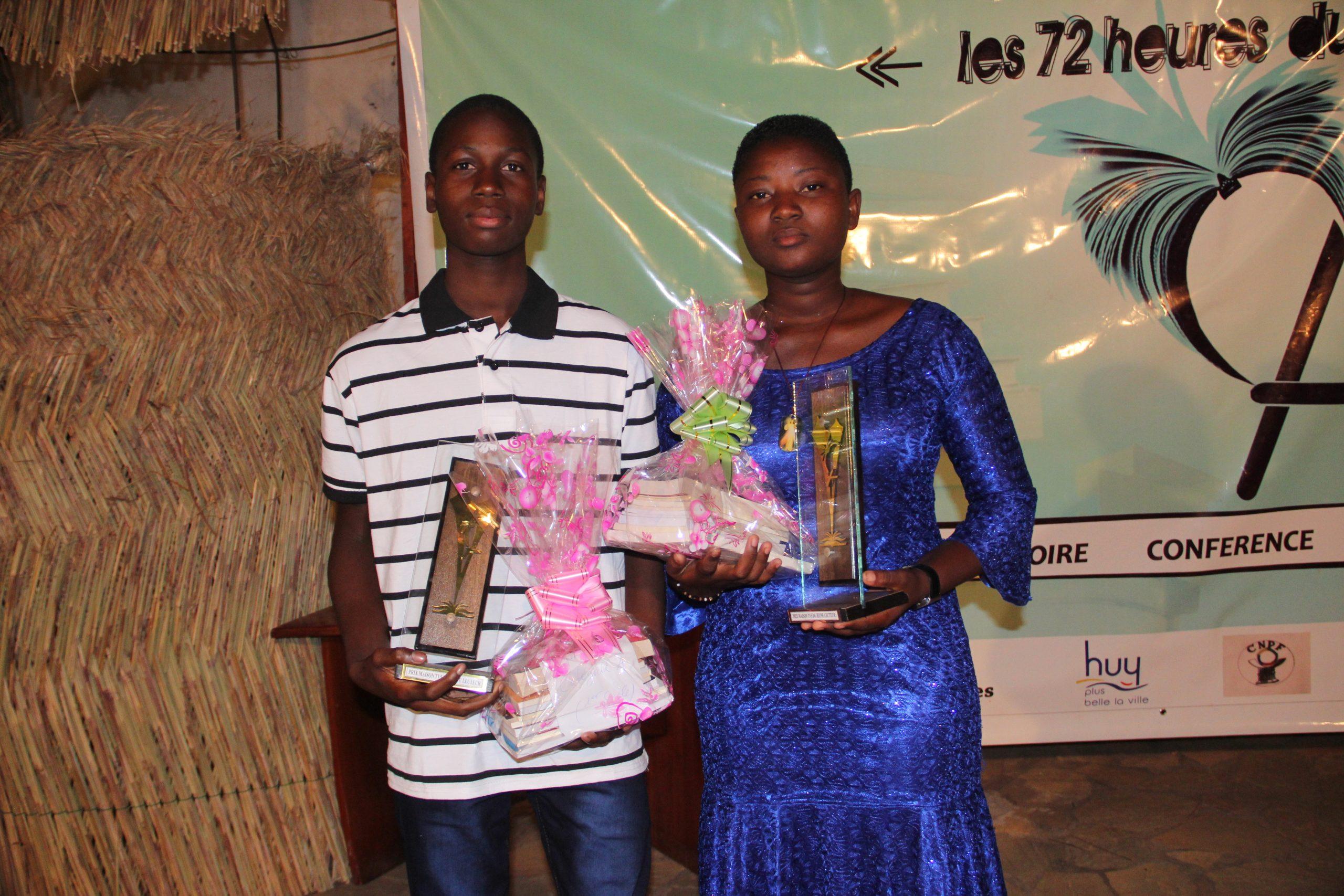 [Prix Maison TV5 du Jeune Lecteur 2020] : Les Ceg Pénessoulou et Bassila 1,  Champions